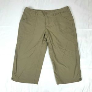 The North Face Cropped Pants Capri Womens Size 12